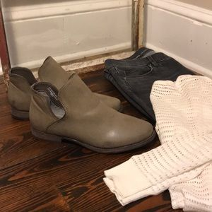 Bamboo Ankle Boots